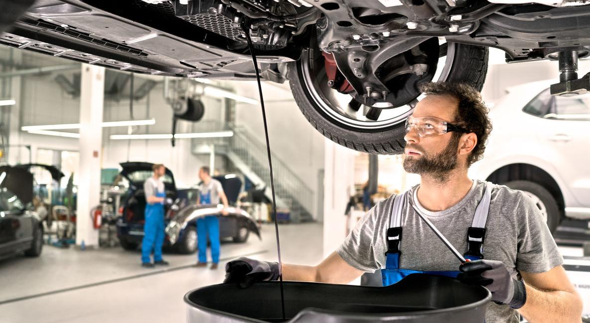 Menjava olja v menjalniku - Porsche Koper